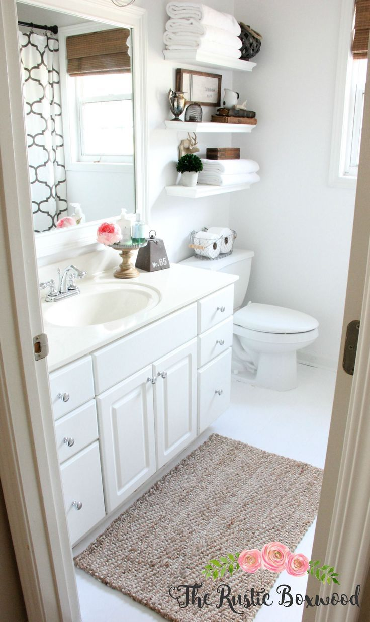 Quick And Easy Small Bathroom Decorating Tips Bathroom