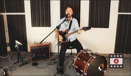 """New from PG HQ! Folk troubadour William Elliott Whitmore goes electric in a special performance of """"Healing to Do:""""…"""