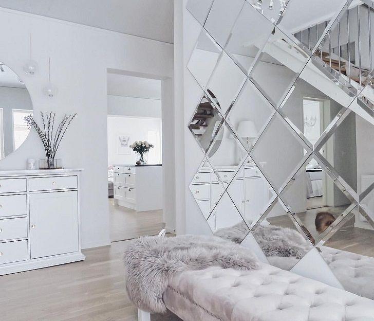 How To Use Decorative Mirror Tiles In Interior Design Mirror