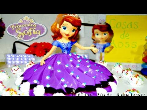 Princesa Sofia Gelatina Tres leches rellena| ROSVI HERNANDEZ - YouTube