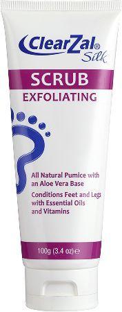 clearzal ® Exfoliating Scrub This silky scrub cleans, exfoliates  conditions feet  legs http://www.MightGet.com/february-2017-3/clearzal-®-exfoliating-scrub.asp