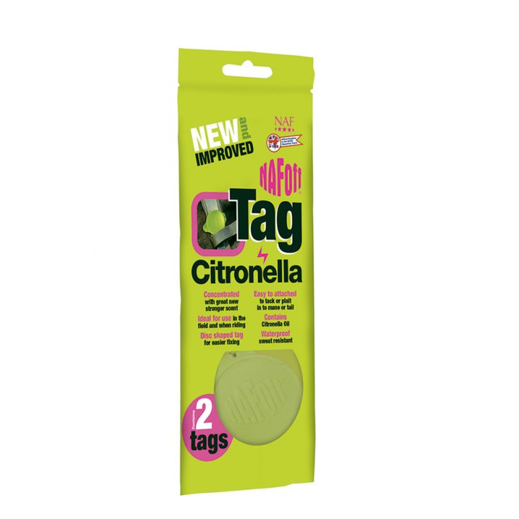 Made with citronella oil, can be looped through the bridle or plaited into the mane or tail.  Ideal for horses that don't like fly spray, continuous all day protection.