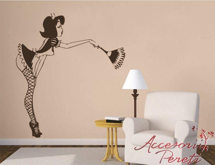 Menajera - Accesorii Pereti : Stickere decorative pentru perete, Tablouri canvas, Borduri