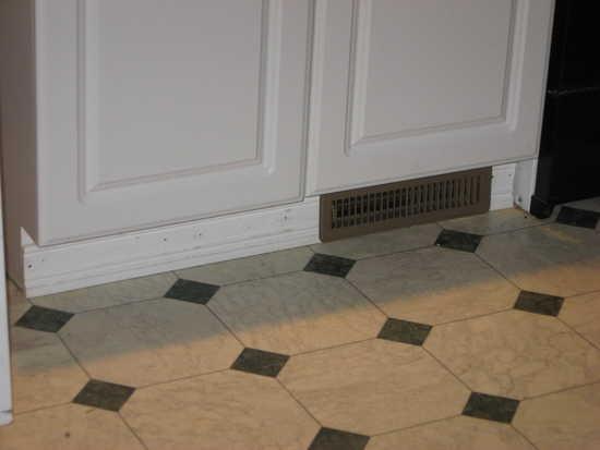 Baseboard Heat Under Cabinet Hot Water