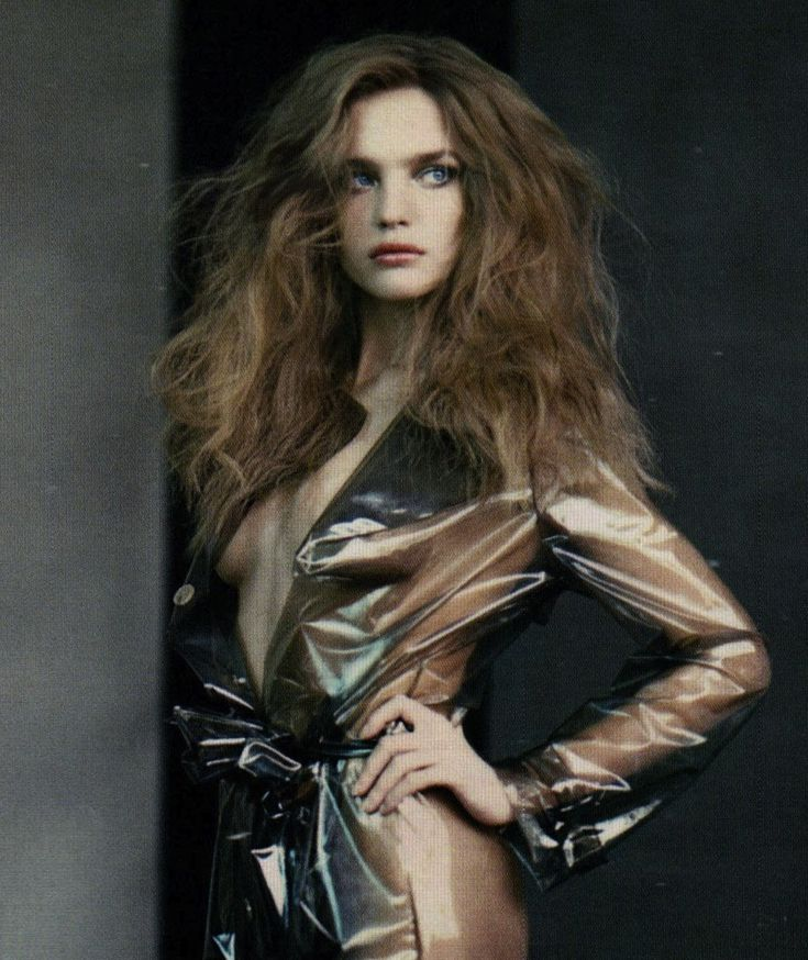 Natalia Vodianova by Polo Roversi for Vogue Russia March 2008