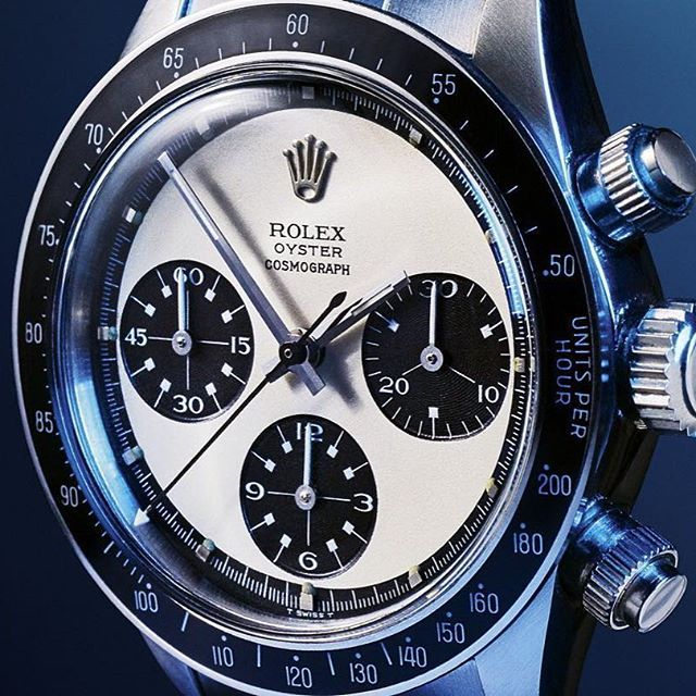 Behold: The world's most collectible watch. #Rolex #RolexDaytona #watchporn