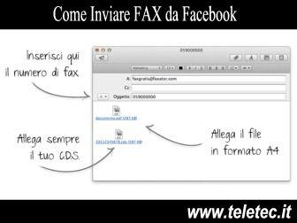 Come Inviare FAX da Facebook