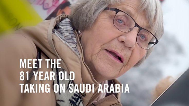 Meet the 81 year old taking on Saudi Arabia