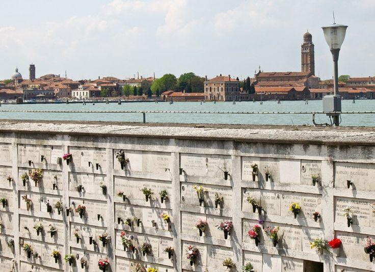 San Michele - der Friedhof von Venedig.