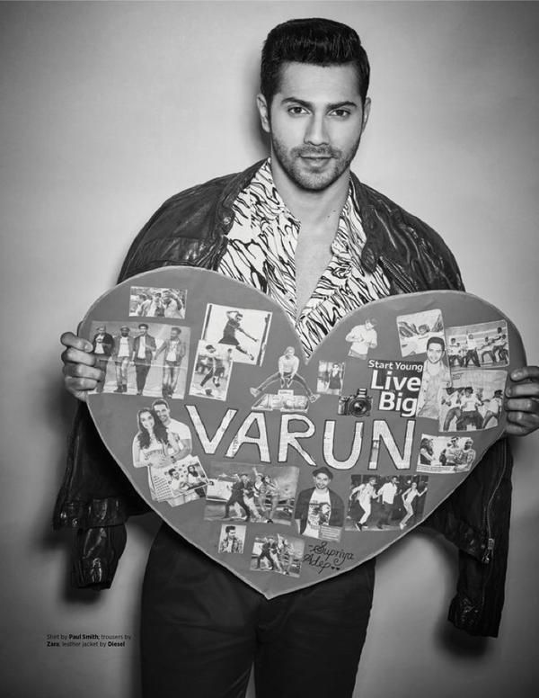 Varun Dhawan Photoshoot for MW Magazine July 2015