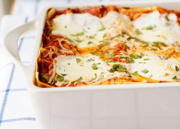 Baked Bree | Veggie Lasagna... I'm always looking for new twists to lasagna. I think I'm going to make this tonight for dinner, looks so good!!