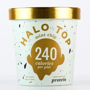 Mint Chip Ice Cream Halo Top