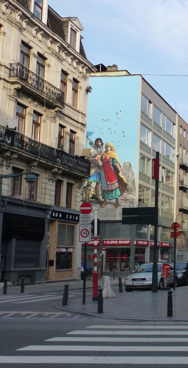 wall-painting-complete-fresque-thorgal-acheve-bruxelles-BD-le-lombard