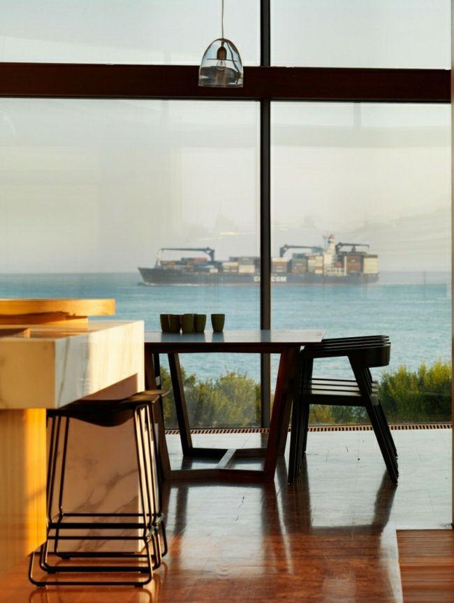 Traumhäuser Haus Aus Holz Hält Balance Zwischen Modern Und