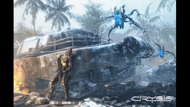 Crysis video Game Images