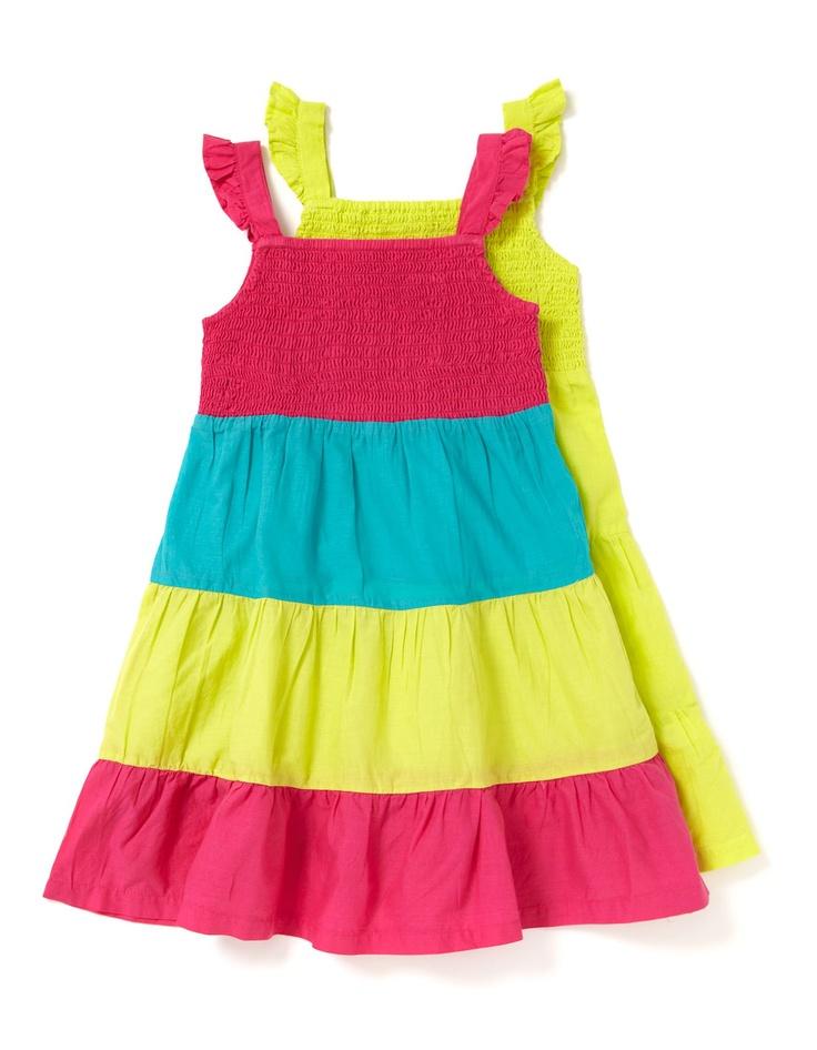 2 Pack Summer Dresses | Girls | George at ASDA