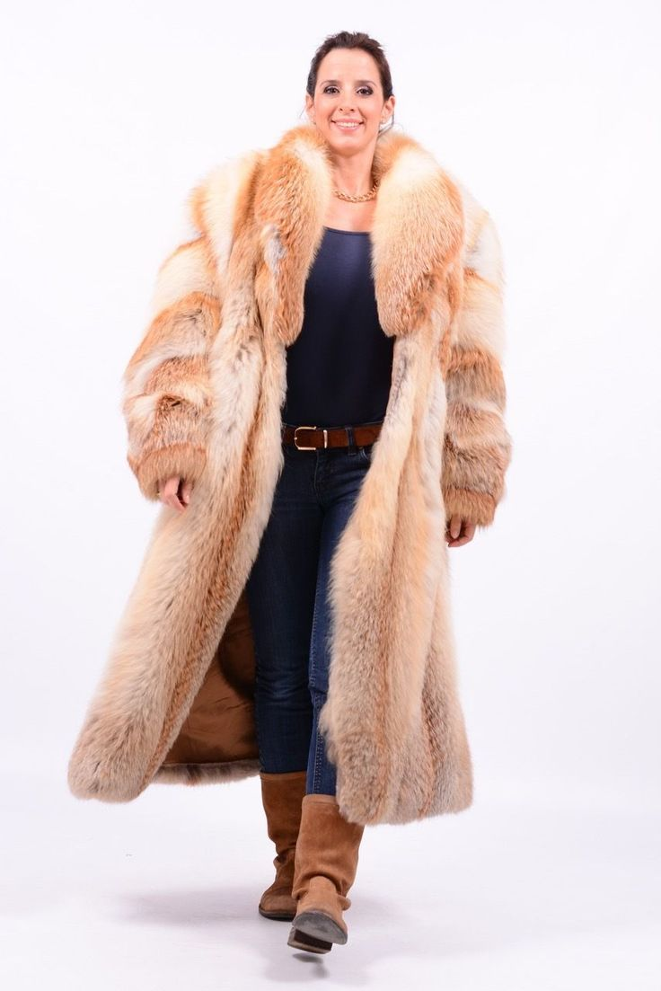 golden island red fox fur coat pelzmantel no silver blue mink abrigo de piel ebay glamorous. Black Bedroom Furniture Sets. Home Design Ideas