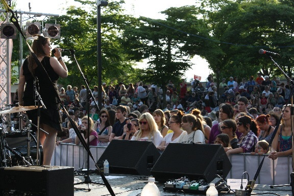 Chilliwack News - Ear Candy at Party in the Park with Faber Drive - July 8 2012