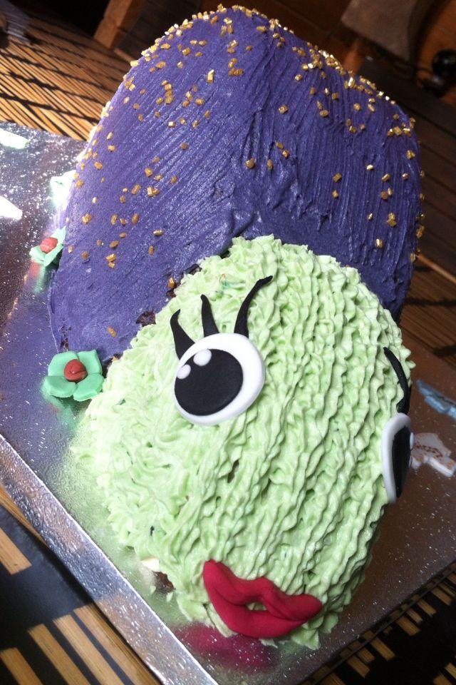 Magik snail cake