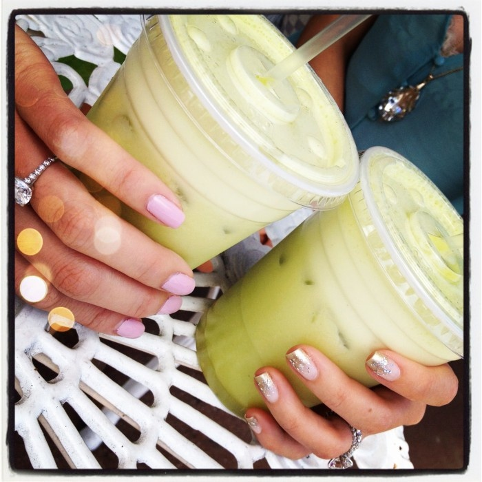 Insta-spiration: Pineapple Juice, Manicures 38, Rings Manicures, Mint Pineapple, Rings Nails, Interlocking Rings, Engagement Rings