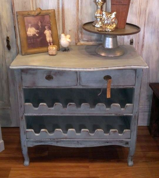 Repurpose An Old Dresser Into A Wine Rack Repurposing