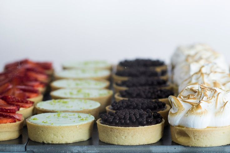 The line up of little tarts in the cabinet at Mt Eden's City Cake Company is pure delight. Owner Tracy Baird has had these cuties in development for quite some time and now, with the recipe just right