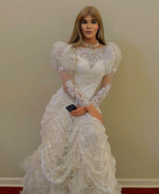 Pin By Michalina Crossdressr On Vintage Wedding Dress