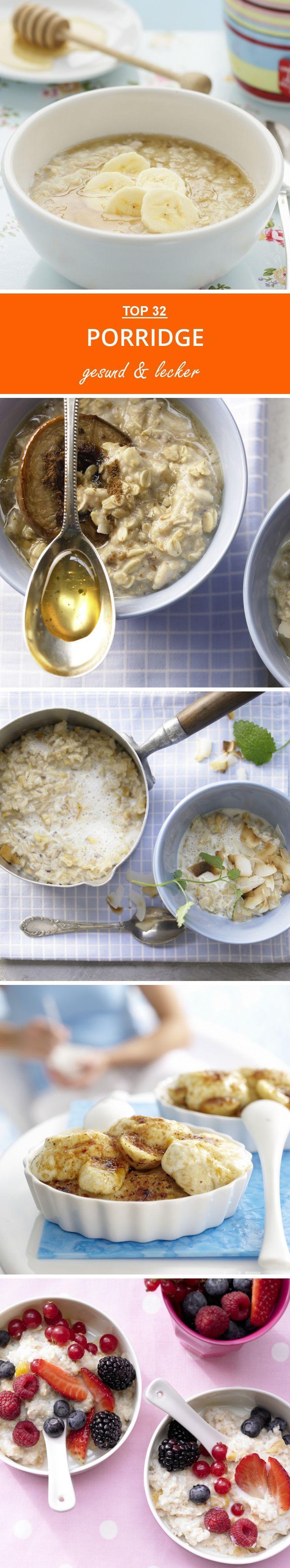 Porridge-Rezepte | Du willst deinen Tag mit Porridge beginnen? Hier zeigen wir dir viele tolle Rezepte zu den gesunden Frühstücksklassiker!