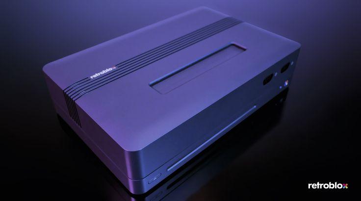 """RetroBlox, la console che guarda al passato. Si chiama RetroBlox e potrebbe diventare la console """"definitiva"""" per divertirsi con tutti i vecchi giochi. A patto che il progetto riesca a vedere la luce dopo la campagna di crowdfunding del prossimo aprile..."""