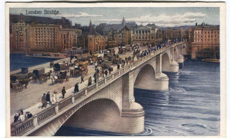 Boots Postcard - London Bridge | PC02626