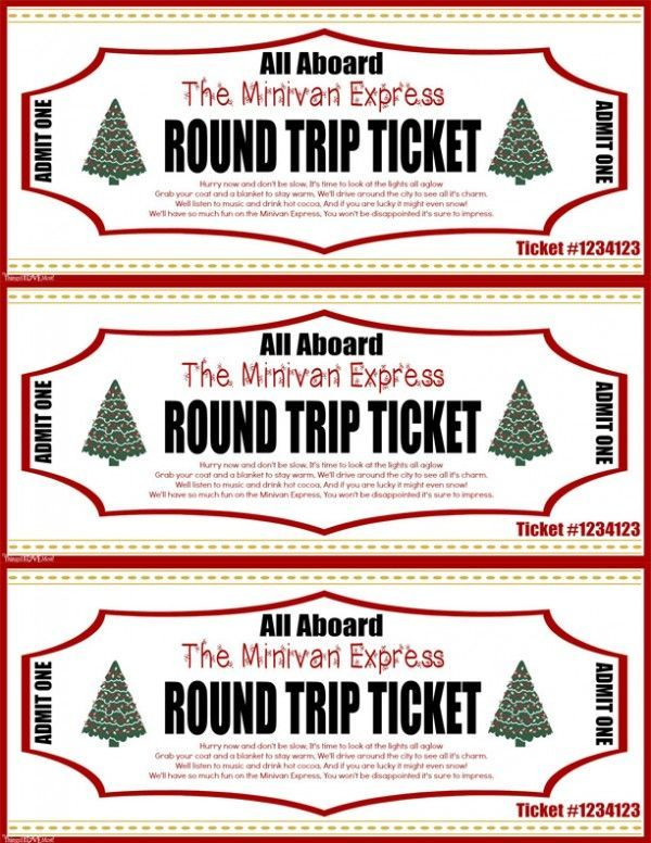 The Polar Express - All Aboard the Minivan Express Tickets