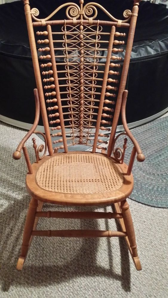 Vintage Wicker Rocker - 618 Best Antique Wicker & Rattan Furniture Images On Pinterest
