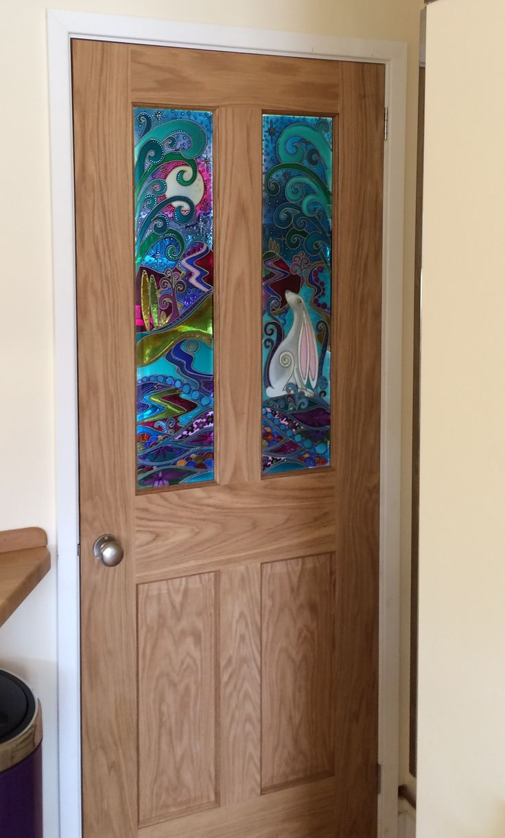 205 Best Ideas About Bespoke Painted Glass Art On