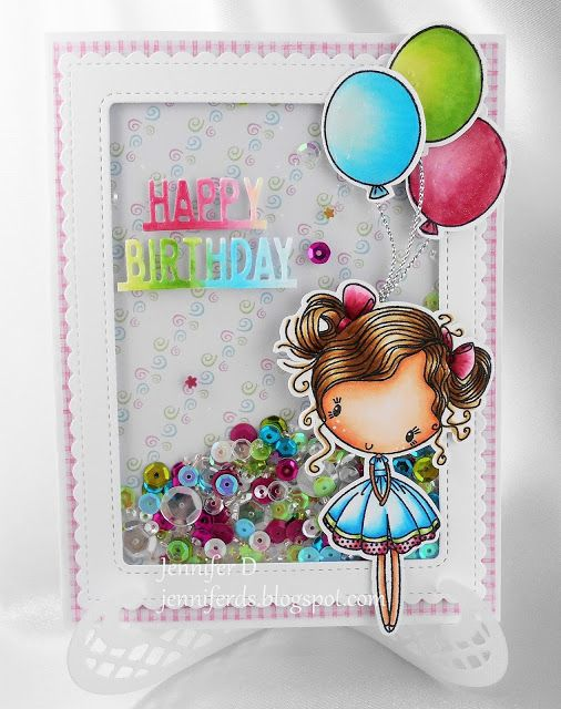 JenniferD's Blog: Cupcake Cutie - Madison Avenue Shaker Card Tutoria...