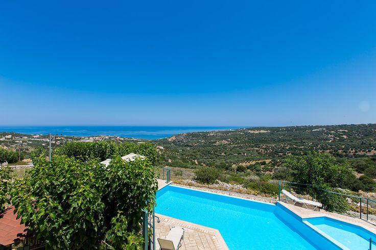 fradellosvillas.gr Villa Chrissi in Gerani, Rethymno - Crete #villa #rethymno #crete #greece #vacation_rental #private #luxurious_accommodation #summer_in_crete #visit_greece #swimmingpool