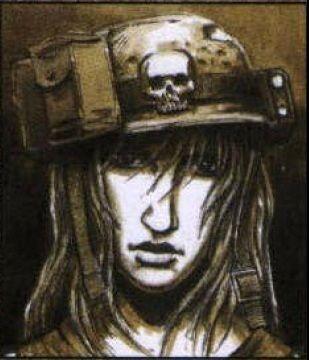 """Woman Warrior"" 13th Penal Legion (Col Schaeffer's Last Chancers) - Warhammer 40K Wiki"
