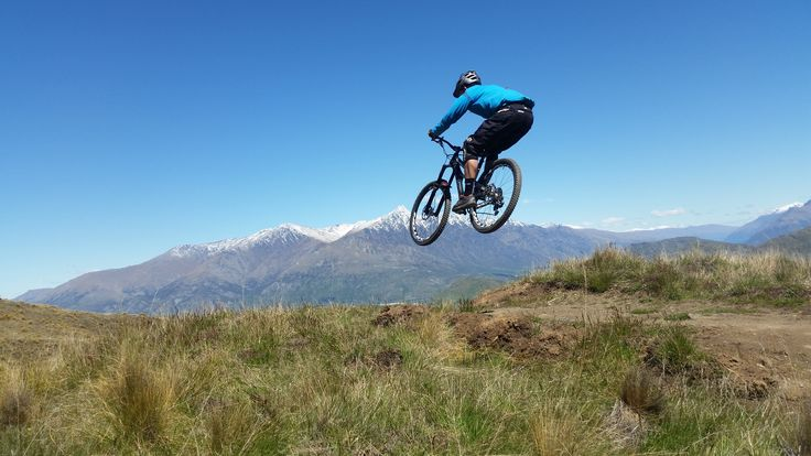 Rude Rock trail built by Queenstown Mountain Bike Club at Coronet Peak, Queenstown.