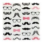 Pink Mustache Party!!Pink Mustache Lunch Napkins (20)