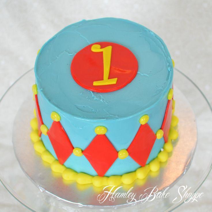 Circus Cake - Smash Cake