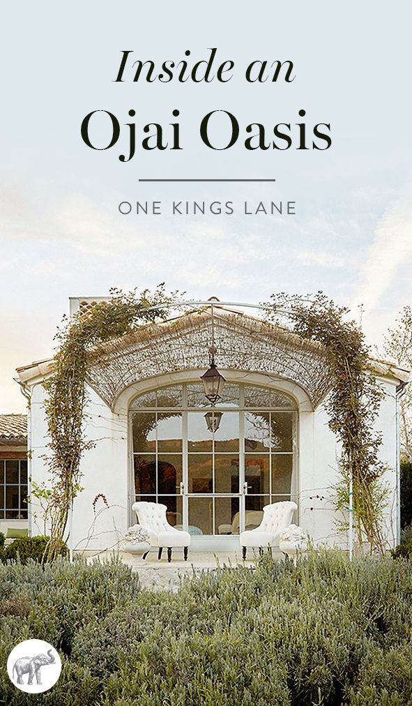 Take a tour of interior designer Brooke Giannetti's stunning Ojai Valley, CA estate, Patina Farm, right here on the One Kings Lane Style Guide!