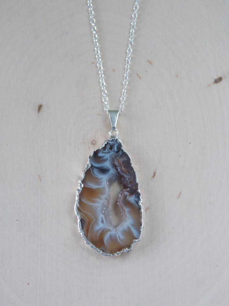 Best 25 Geode Jewelry Ideas On Pinterest Agate Necklace
