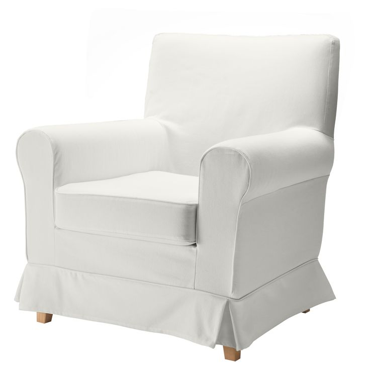 EKTORP JENNYLUND Chair - Blekinge white - IKEA $200  If you end up needing a chair...my mom has 2 of these in the breakfast area, they are comfortable and are not too big. Washable cover a plus.