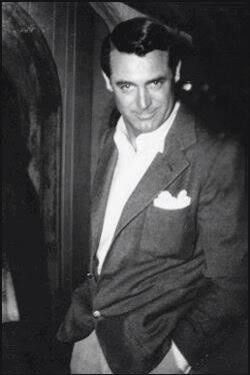 Cary Grant.  Sorry, Clooney, but even you cannot measure up  to *that*.