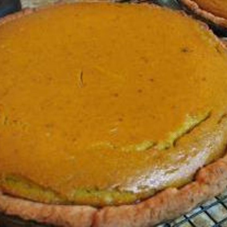 This is a family favorite and was my Grandpop Henry's favorite pie!  FACTOID: Did you know that most commercial pumpkin for pumpkin pie - the kind you buy in a can - is butternut squash?  One Blue Hubbard is enough for two deep dish pies