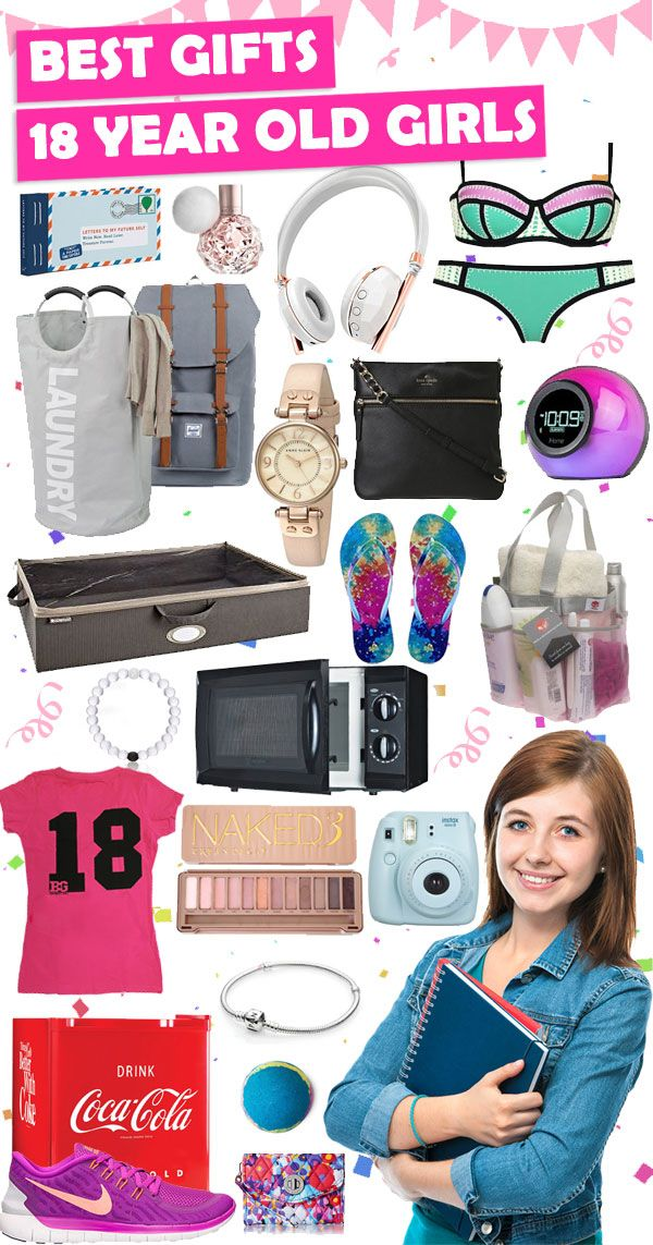 Parents, save this list! Click for over 450+ Christmas and 18th Birthday gift ideas for 18 year old girls.