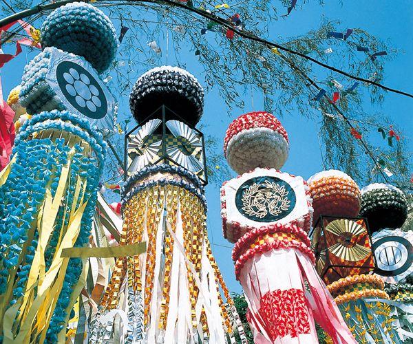 Tanabata-maturi, Sendai 七夕まつり 仙台