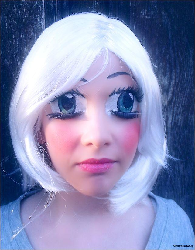 Les 25 meilleures id es concernant maquillage manga sur pinterest maquillage blanc dessin - Maquillage blanc visage ...