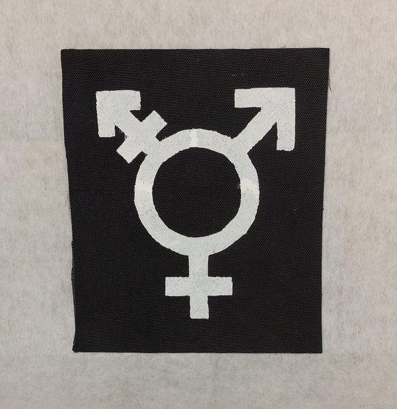 Transgender Patch Trans Symbol Patch Transgender Symbol Patch Trans Patch