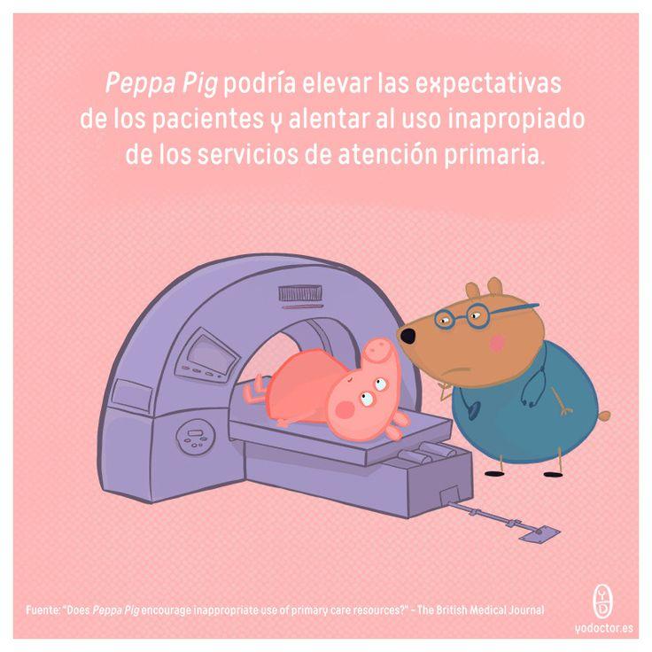 Peppa Pig alienta el mal uso de la atención primaria, ¡maldita cerda! http://ow.ly/fD4Z30hCz9t