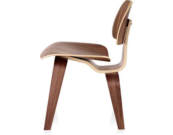 DCW Dining Chair Wood (molded plywood, wood legs) Design